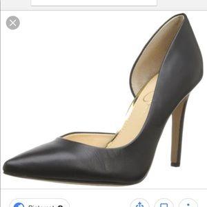 Jessica Simpson Black Claudette Pump Size 4